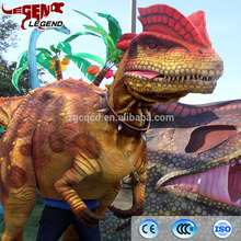 Attractive Realistic Life Size Dinosaur Costume for theme park