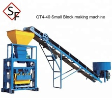 QT4-40 Used concrete Hollow block making machine for sale