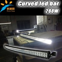 50'' LED Light Bar Off Road, Car LED Light Arch Bent 4x4
