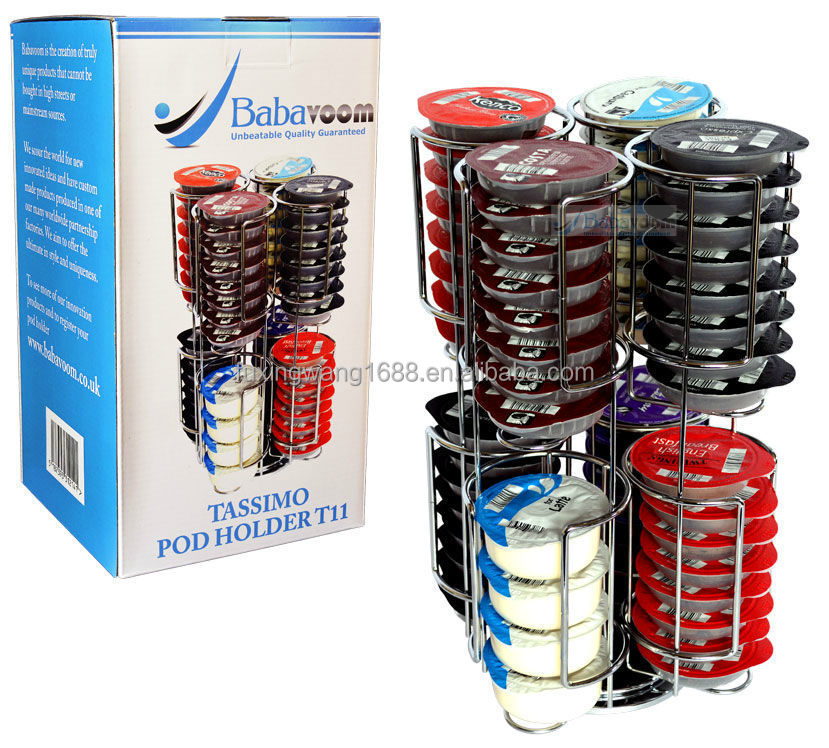 Tassimo 64 caf pod t disc porte capsule distributeur en acier inoxydable b - Distributeur capsule tassimo ...