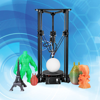 Made in China Sinis T1 3d Printer DIY Kit House-hold Delta 3d Printer Multi-functional 3d Printer Machine
