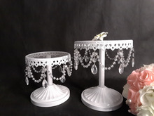 Western style tierded cake stand &arylic pearl cake decoration supplied on wedding centerpiece