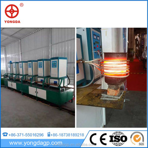 Hiway china supplier induction cold forging steel annealing machine