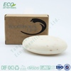 Round high quality natural coconut oil soap is soap