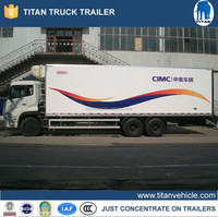 refrigerator cooling van truck , carrier units refrigerator truck 3-5Ton , refrigerator box truck