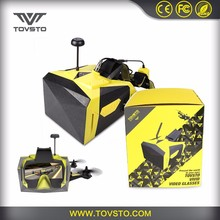 TOVSTO Wearing Headplay FPV Video 40CH Raceband Auto-Searching Eye Glasses