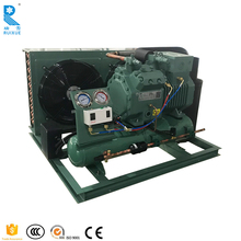 Reliable Quality R404a Air Cooled Bitzer Open-Type Semi-Hermetic Freezer Compressor Condensing Unit For Cold Room