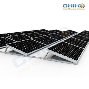 Latest products solar panels ballasted apply for flat roof pv mounting