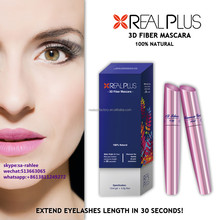 No smudge no spider legs REAL PLUS best effect 3d fiber mascara