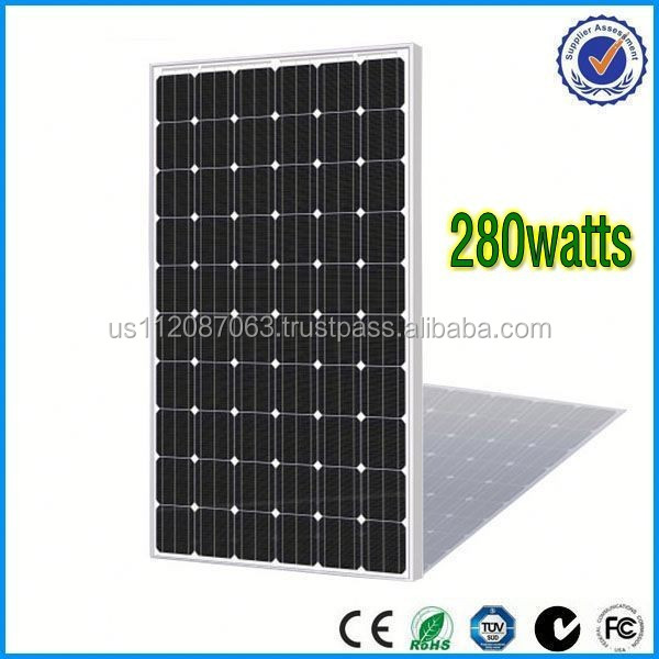 280watts solar panel with nice price