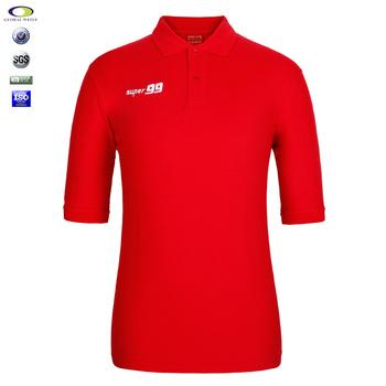 Custom extra long men polo shirts 65 polyester 35 cotton for Custom polyester polo shirts