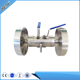 Double block and bleed valve, DBB flanged block valve