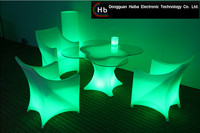 Hot sale modern remote control color changing illuminated computer table specifications made in China