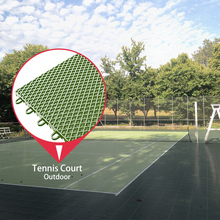 High quality waterproof portable outdoor sports tennis court interlocking tile