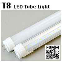 2014 high brightness natural white led tube light t5 fluorescent hanging light fixture