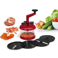 S/S+ABS+PS+PA 20.5*16*27 Kitchen help multifunction food processor/food slicer/food grater