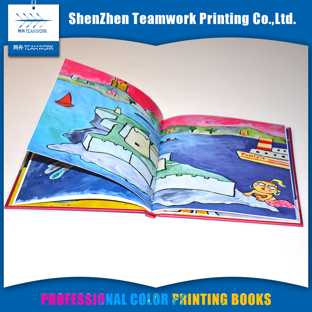 mini children english story book printing publishing companies