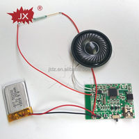 Cheap usb mp3 sound module for card,cake box