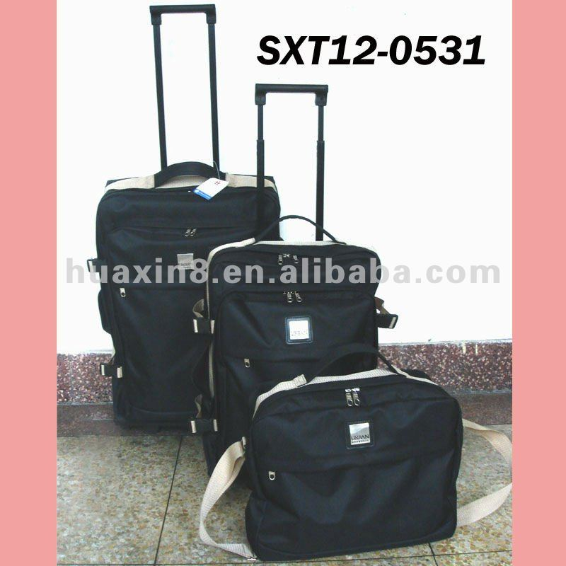 3 pc set economic polyester luggage