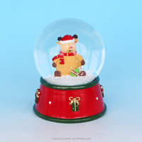 Lovely Bear Chrismas Snow Globe With China Direct Factory