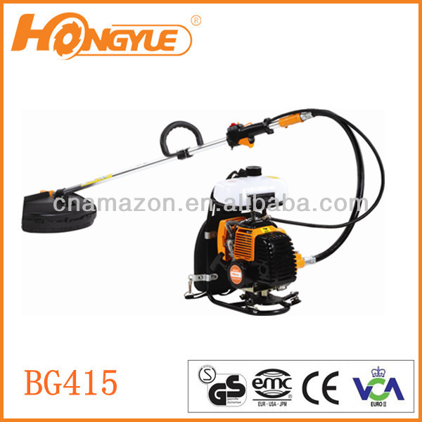 40.7cc backpack 2-stroke Gas/petrol BRUSH cutter BG415
