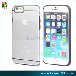 wholesale transparent clear plastic cover for iphone 6s
