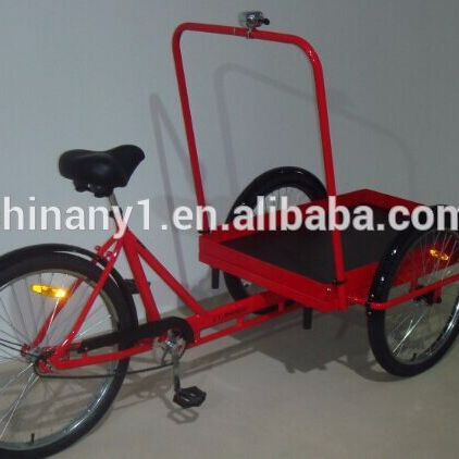 High quality heavy duty cargo bike/reverse trike/front loading tricycle for sale