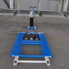 portable hydraulic car lift scissor used car lift for sale