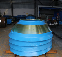 Cone Crusher Spares Parts Mantle and Bowl Liner