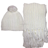 wlyiwuchuchu0519-09 New arrival ladies designer hat and scarf sets