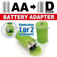 Battery Adapter Convert AA to D