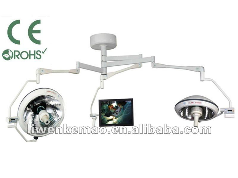 LW700/500 ISO CE approved LW 700/500 Shadowless Operation lamp with extrinsic digital image