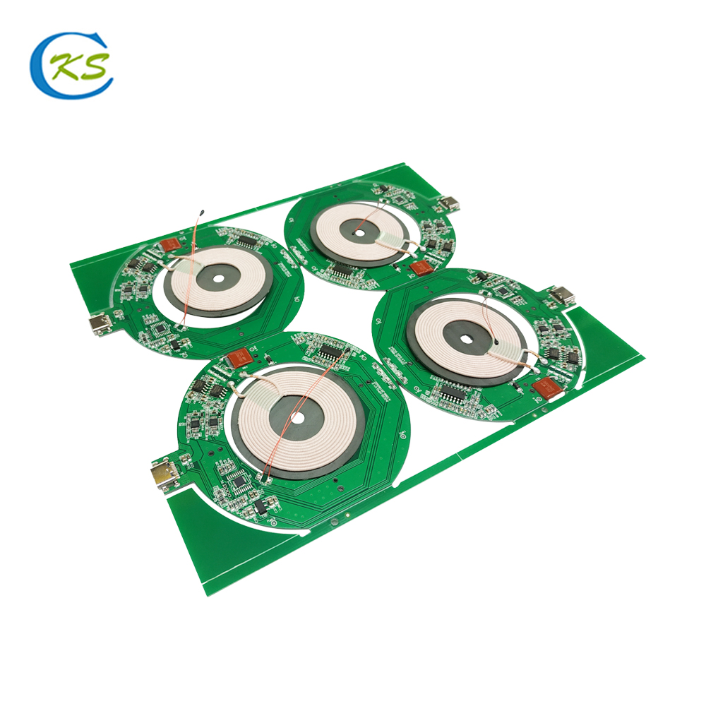 China Supplier Oem QI Wireless Charger PCBA Receiver <strong>Pcb</strong> Factory