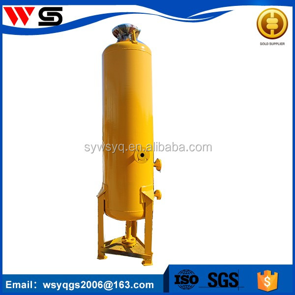 Industrial water cooling cyclone sand dust separator