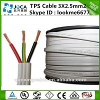 Australia Hot Selling Two Core Flat Twin Active Cable SAA copper PVC Flat TPS cable