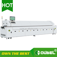 LED SMT reflow oven for PCB,Small Reflow Oven/SMT Conveyor Reflow Oven/ Reflow soldering oven