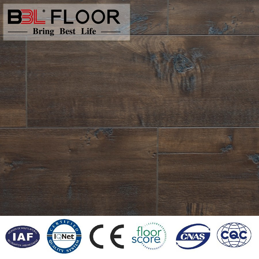 Fast and Easy Install Wood Flooring Solid Board for Indoor Decking System