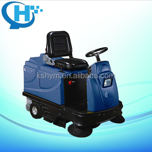 riding type electric street sweeper