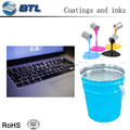 Clear printed patterns silicone printing ink for electronics' silicone keypads