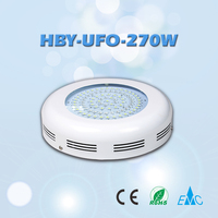 Home Garden/Greenhosue 270W UFO Led Grow Light for for Potato Tomato and Vegetables Used