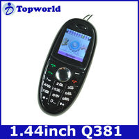 "China bar phone Q381(FR39) 1.44"" dual sim quad band"