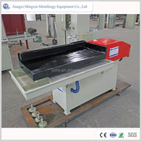 mineral separating vibrator shaking tables for pcb coopper recovery