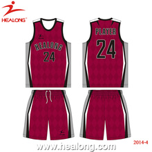 Custom Design Any Logo Size Color Farbic Basketball Jersey Uniforms Set