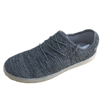 Men grey knit sport shoes low price 2017