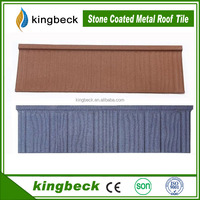 Kingbeck Wood Tile Coat Roofing Material Galvalume roofing shingle
