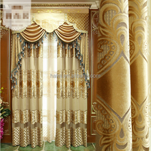 custom Luxury European style bedroom Elegant Turkish velvet curtain