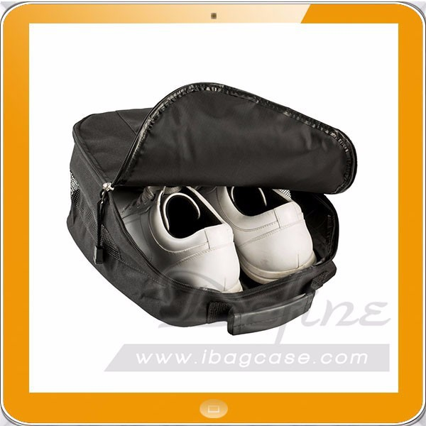 Outgoing sport polyester shoe bag matching shoe and bag set for golf basketball football