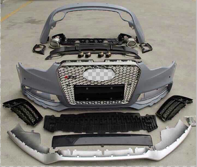 factory manufacturer for Audi New RS5 look car front bumper