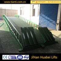 Compact structure antiskid Manganese steel mobile ramp made in china