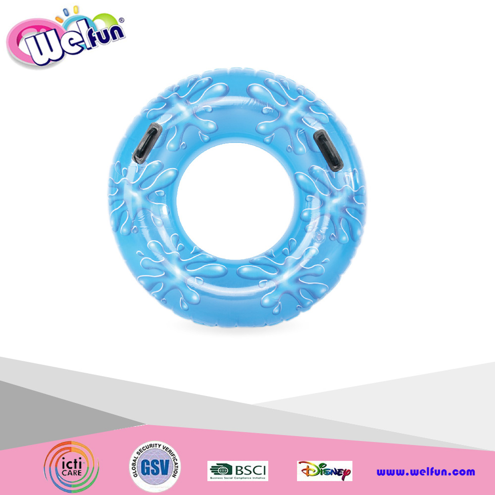 Giant Inflatable Drops Tube Swimming Rings